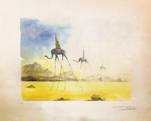 Salvador Dalì – I tre elefanti surrealisti