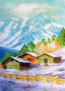 Antonio Atzori – Baite di montagna