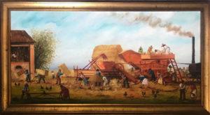 Nino Zagni – La battitura del grano