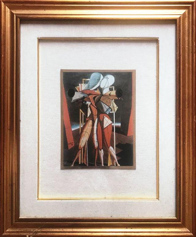 Giorgio De Chirico – Ettore e Andromaca