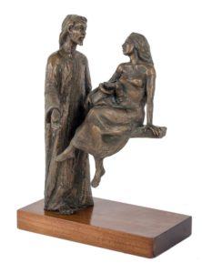 Leonardo Lucchi – Cristo e la samaritana