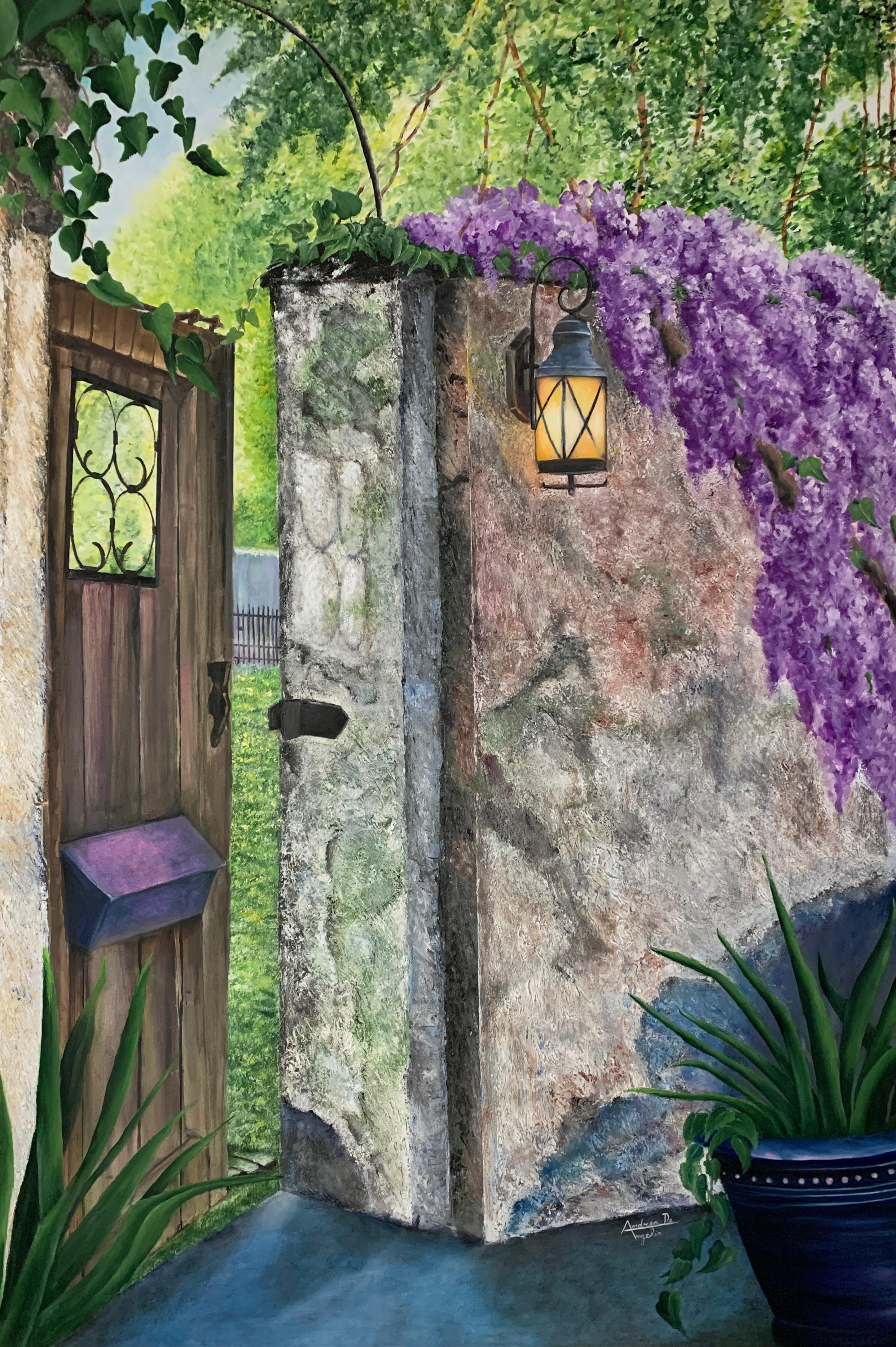 Andrea De Angelis – Glicini con portone