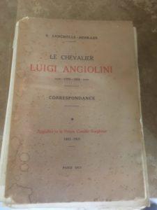 Le chavalier – Luigi Angiolini – Correspondance