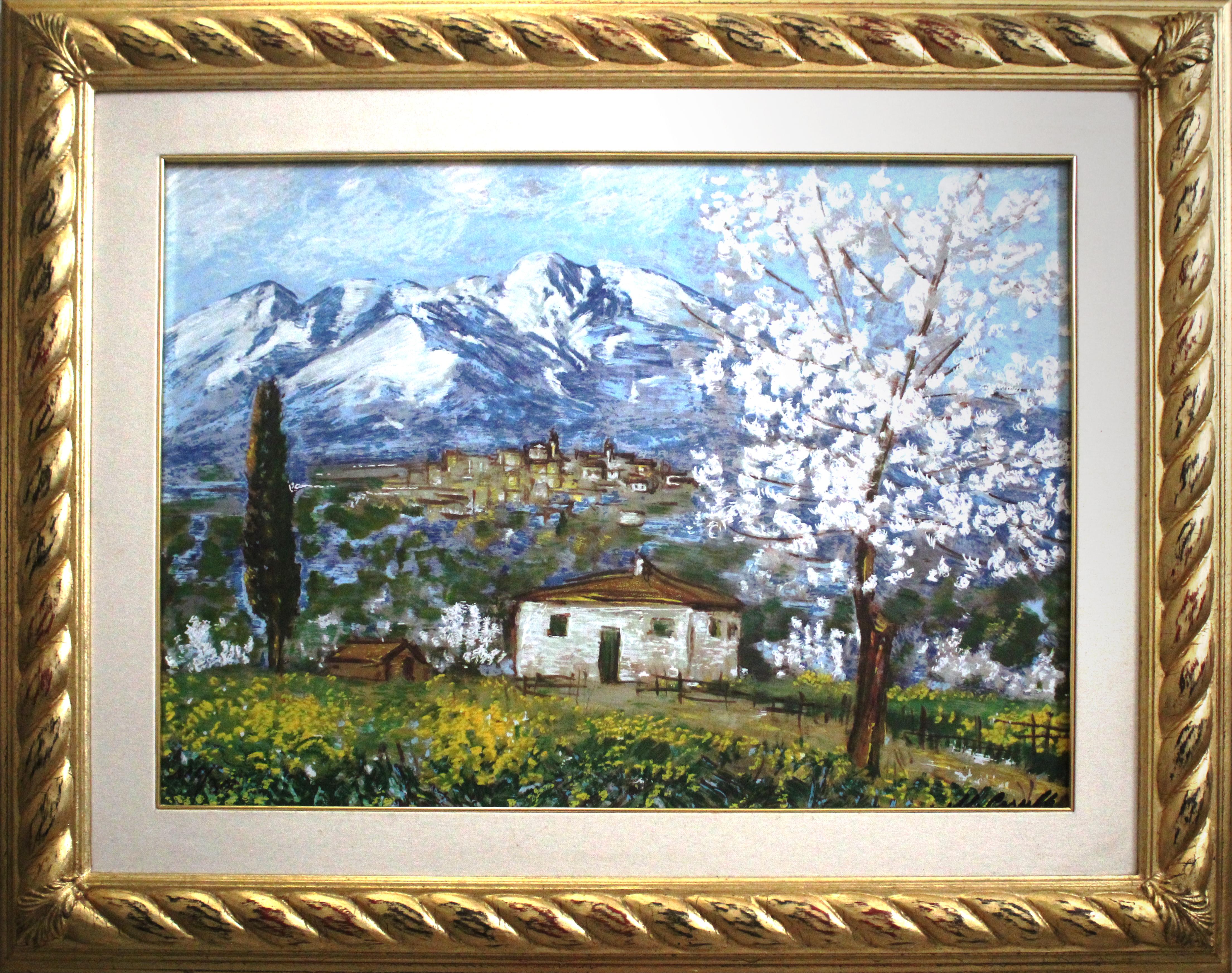 Michele Cascella – Paesaggio abruzzese