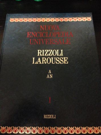 Nuova Enciclopedia Universale – Rizzoli Larousse