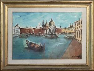 Gino Scarpa – Veduta di San Marco
