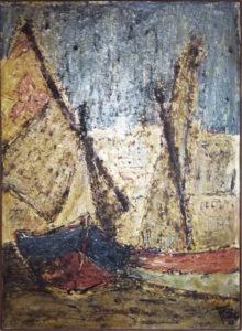 Franco Minardi – Pescherecci nel porto
