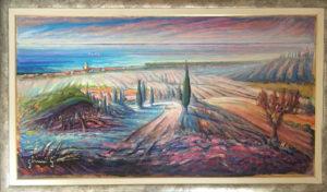 Giovanni Ghini – Paesaggio toscano