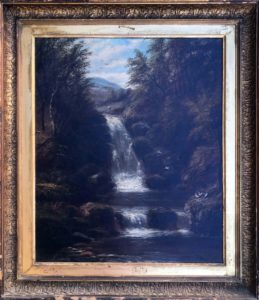 Joseph Mellor – Waterfall at Dolgelly