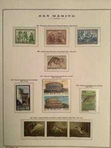 Collezione di francobolli – Italia e San Marino