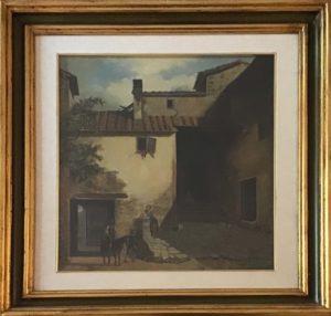 Giovanni Faini – Corticella di casa rustica