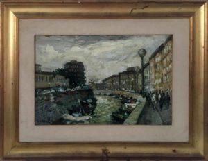 Giuseppe Cavallini –  I fossi di Livorno