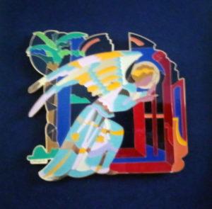 Ugo Nespolo – L'angelo dell'annunciazione