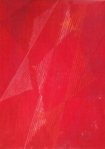 Italo Pasqualini – Rosso con linee