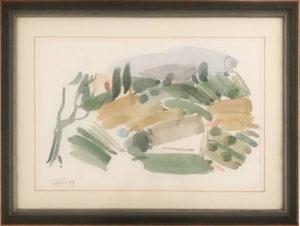 Artista sconosciuto – Collezione di acquerelli