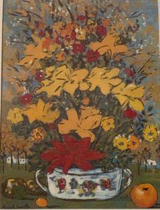 Michele Cascella – Vaso di fiori