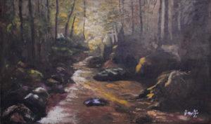 Filippo Cimei – Alba sul fiume
