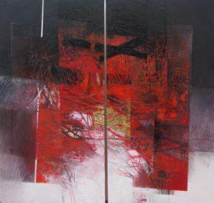 Giuliano Censini – Paesaggio in rosso