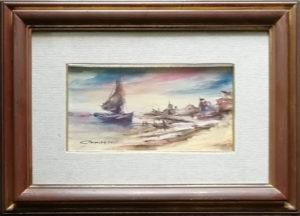 Luciano Navacchia – Barca con vela
