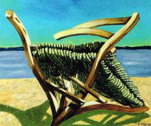 Gilberto Carpo – Sedia sulla spiaggia