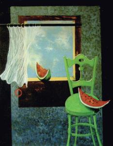 Gilberto Carpo – La sedia verde