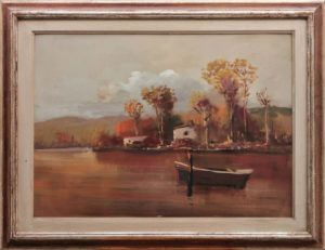 A. Corsi – Barca sul fiume