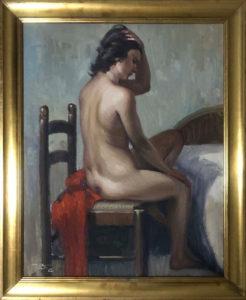 Artista sconosciuto – Nudo di donna