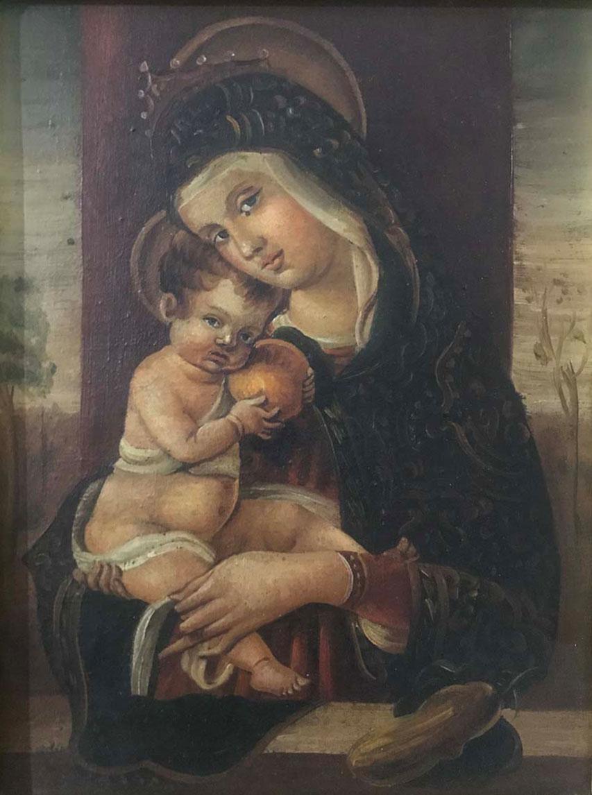 Artista sconosciuto – Madonna Crivelli