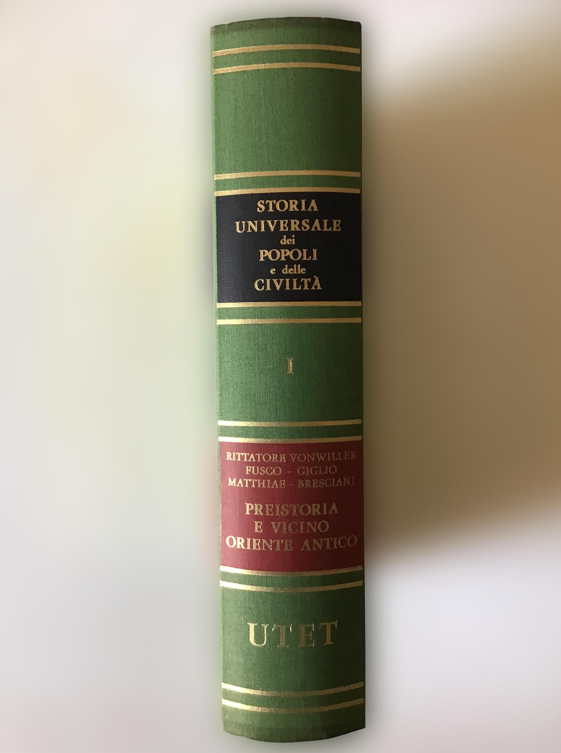 Storia universale dei popoli e delle civiltà – Utet