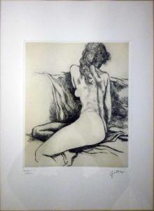 Renato Guttuso – Nudino di schiena