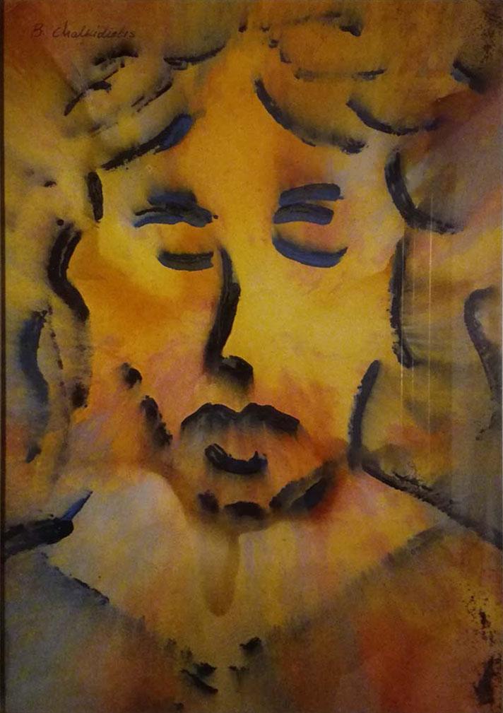 Basilio Chalkidiotis – Volto di Cristo