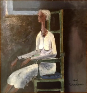Cesare Paolantonio – Figura di anziana seduta