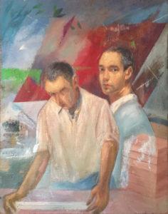 Eugenio Angelo Lotti – Il Pittore con il padre