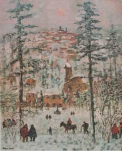 Michele Cascella -Inverno