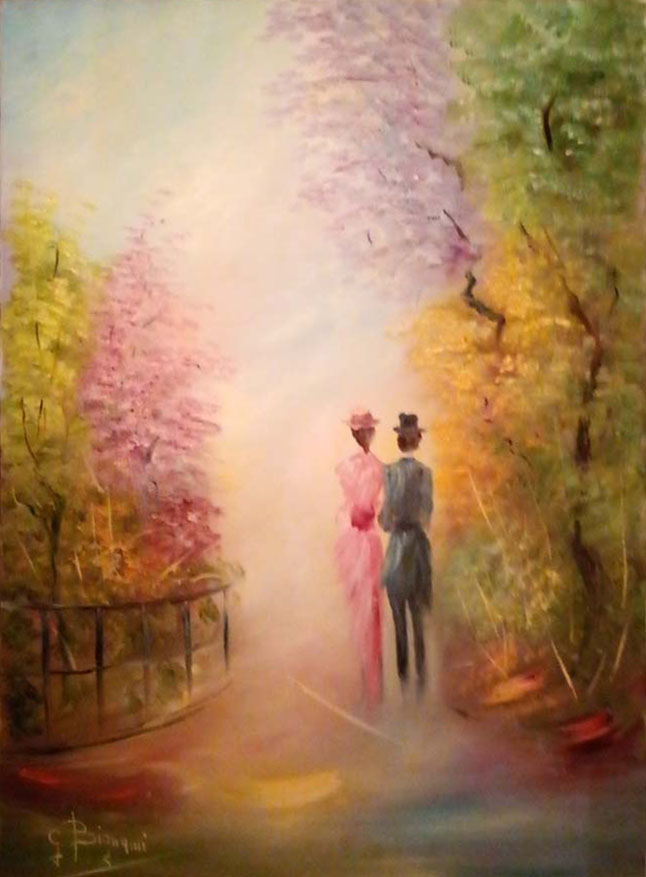 Gianni Bignami – La passeggiata nel parco