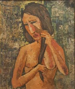 Artista sconosciuto – Figura femminile