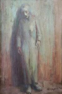 Renzo Magnanini – Donna con bastone