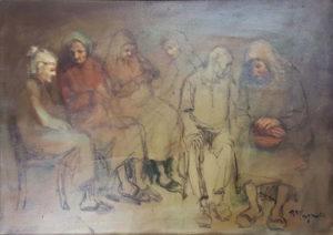 Renzo Magnanini – Gruppo di anziani