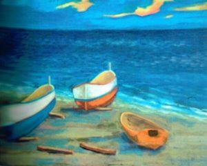 Roberto Frigo – Barche sulla spiaggia