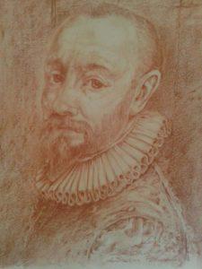 Giuseppe Fuschi – Ritratto di Simone Peterzano maestro di Caravaggio