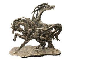 Aligi Sassu – Cavalli innamorati