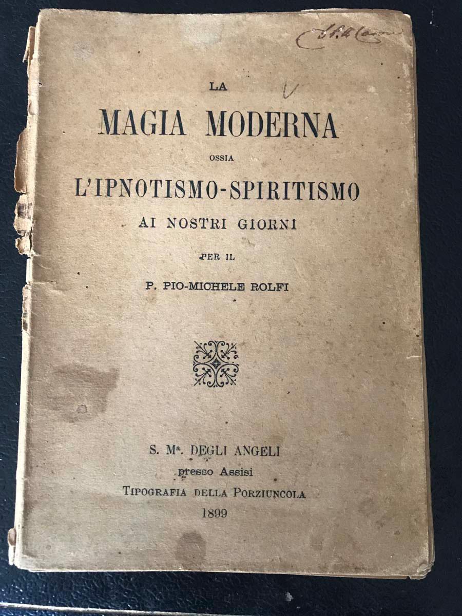 La magia moderna – Tipografia della Porziuncola