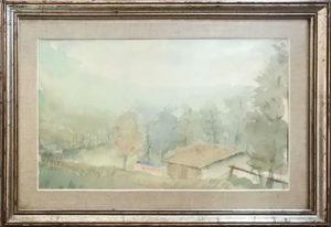 Carlo Gusmeroli – Paesaggio montano