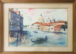 Cesare Aliverti – Canal Grande