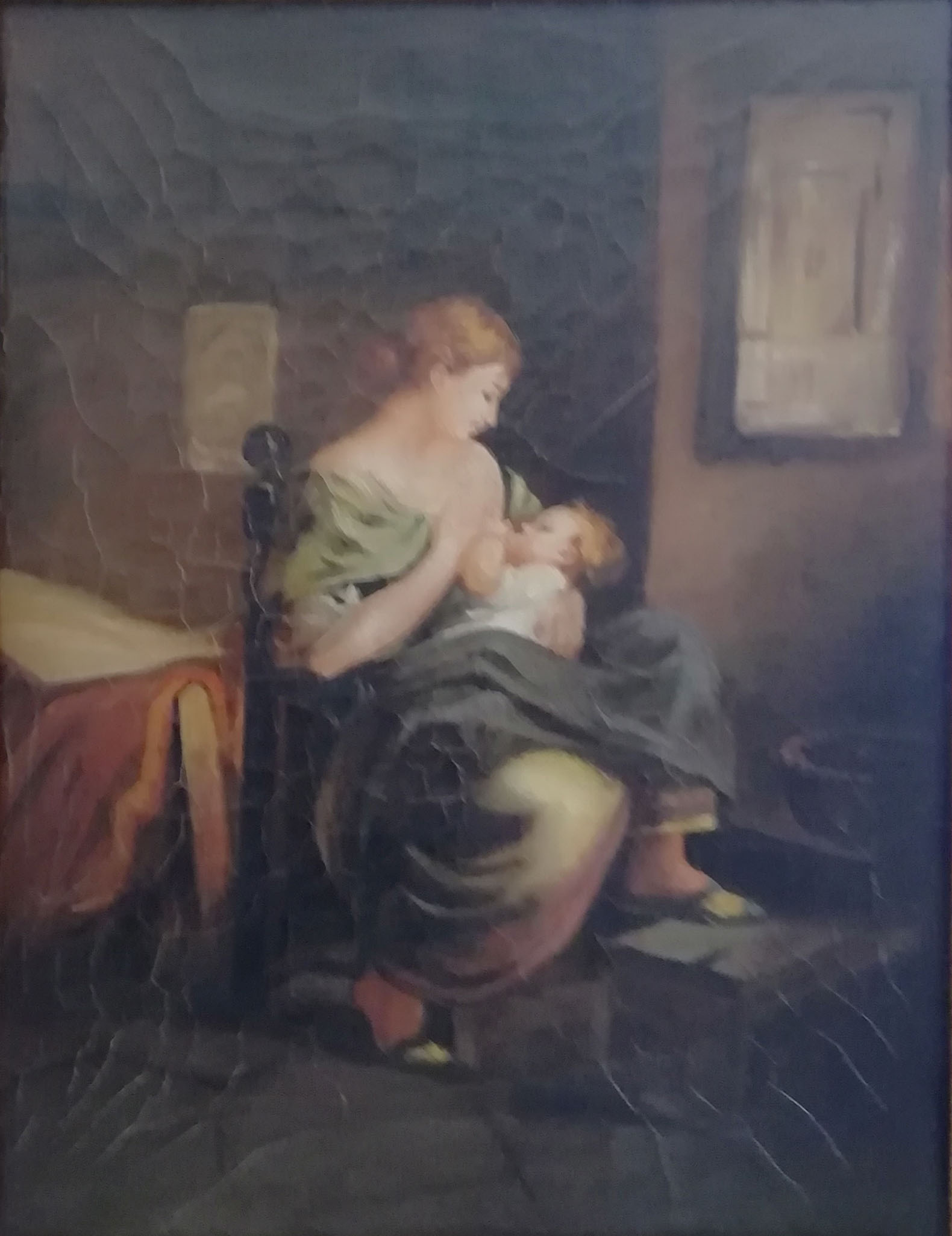 Artista sconosciuto – Lattante