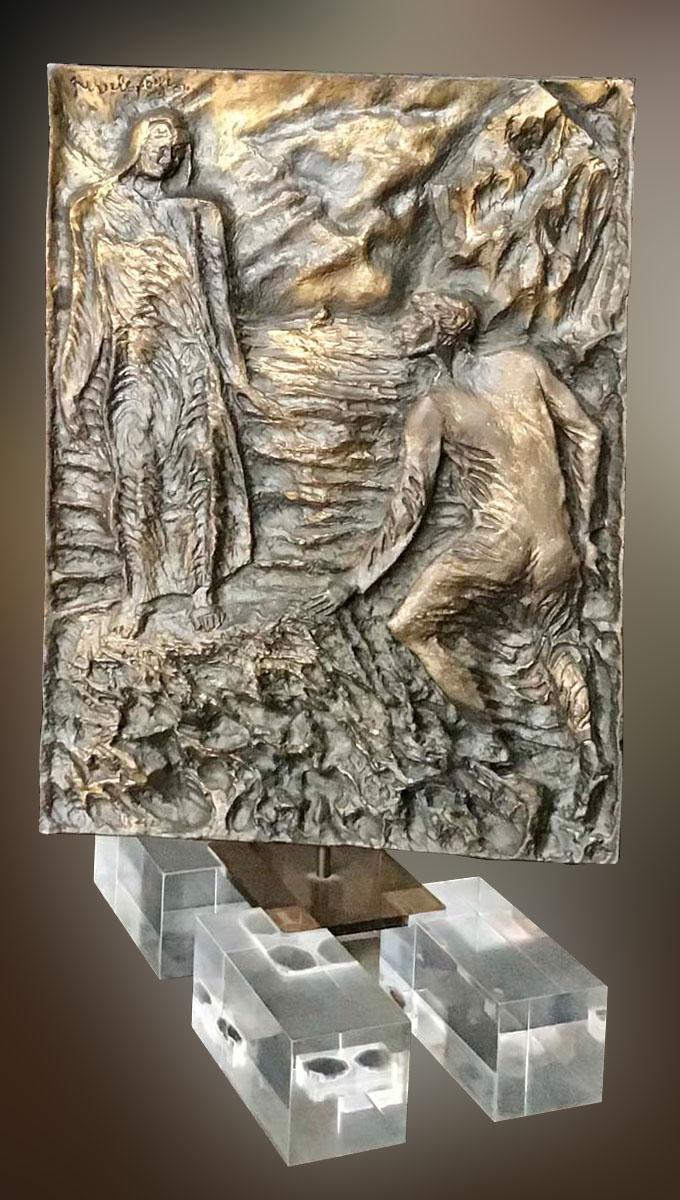 Pericle Fazzini – Dante incontra Virgilio
