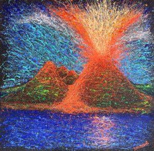 Mario Cianciotti – Eruzione del Vesuvio