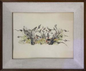 Gino Baglivo – Uccello e filo spinato