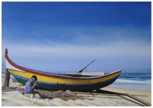 Bruno Roberto Greco – La barca ed il pescatore