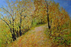 Leopoldo Meozzi – Passeggiata tra le foglie